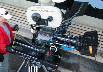 3-Foot Slider camera-movement system mounted on a set of sticks