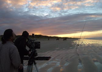 The Slider helping to capture a beautiful sunrise in Australia
