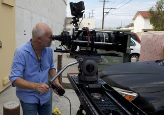 24 Director of Photography Rodney Charters using our 4-foot motor Slider