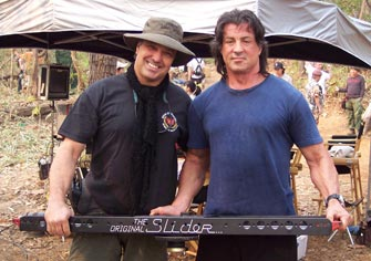 Ron Veto and Sly Stallone
