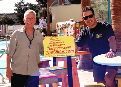Ron Veto and Jerry Giacalone, <br>co-owners of the Slider